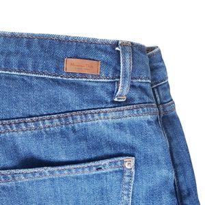 Massimo Dutti high waisted skinny jeans